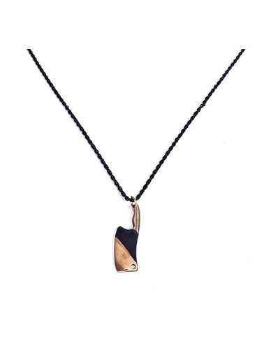 Janti  Janti Kolye Çelik Satır Figürlü Renkli